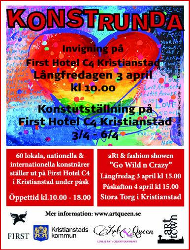 Konstrunda i Skåne 2015